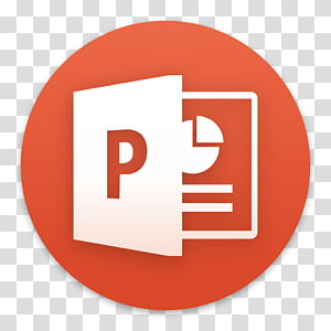 Clay OS A macOS Icon, Microsoft PowerPoint, P document icon.