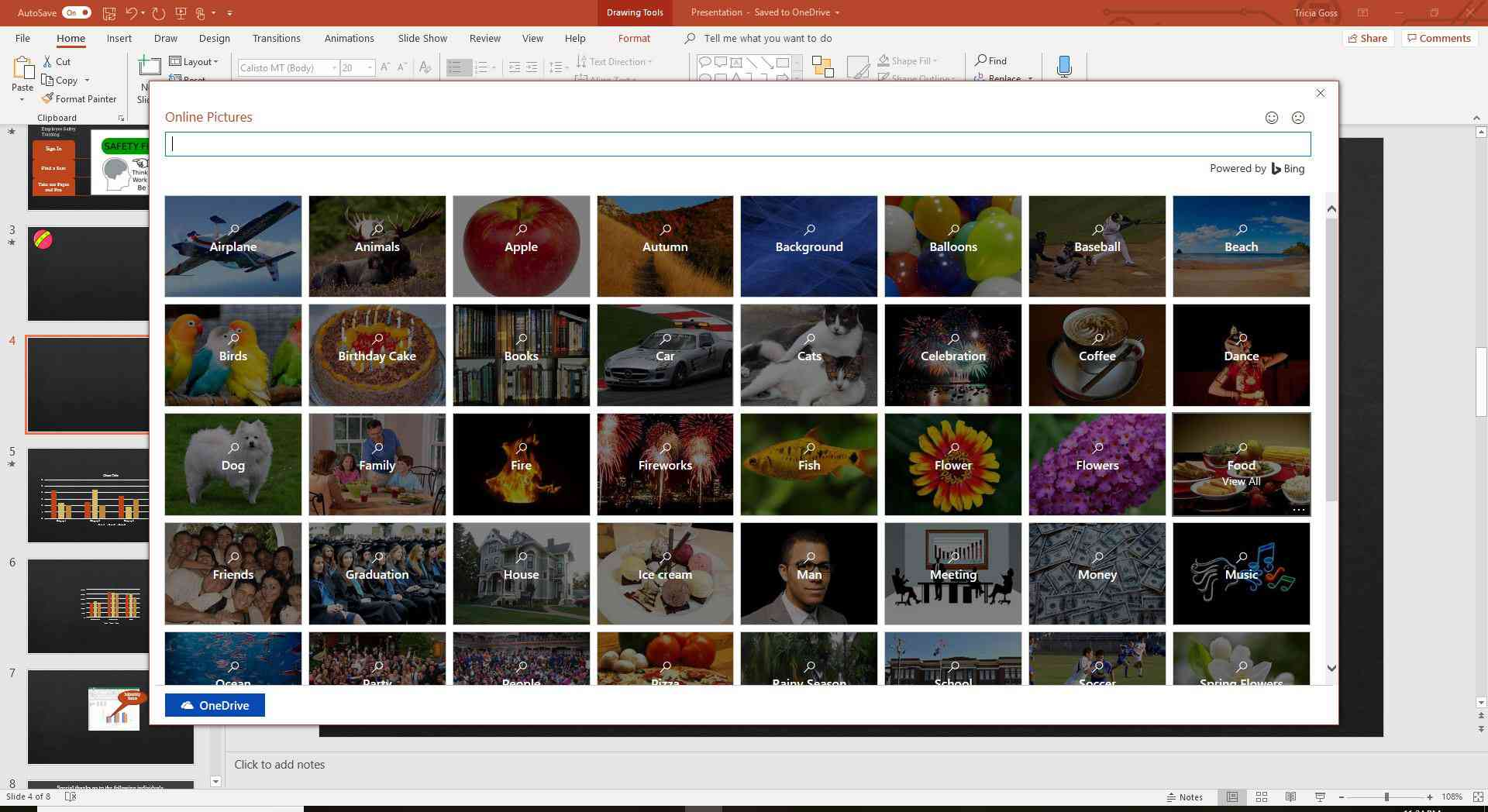 How to Insert Pictures in PowerPoint Slides.