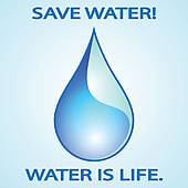 Save Water Clip Art.