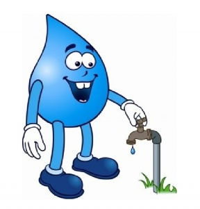 How To Save Water At Home Clipart.