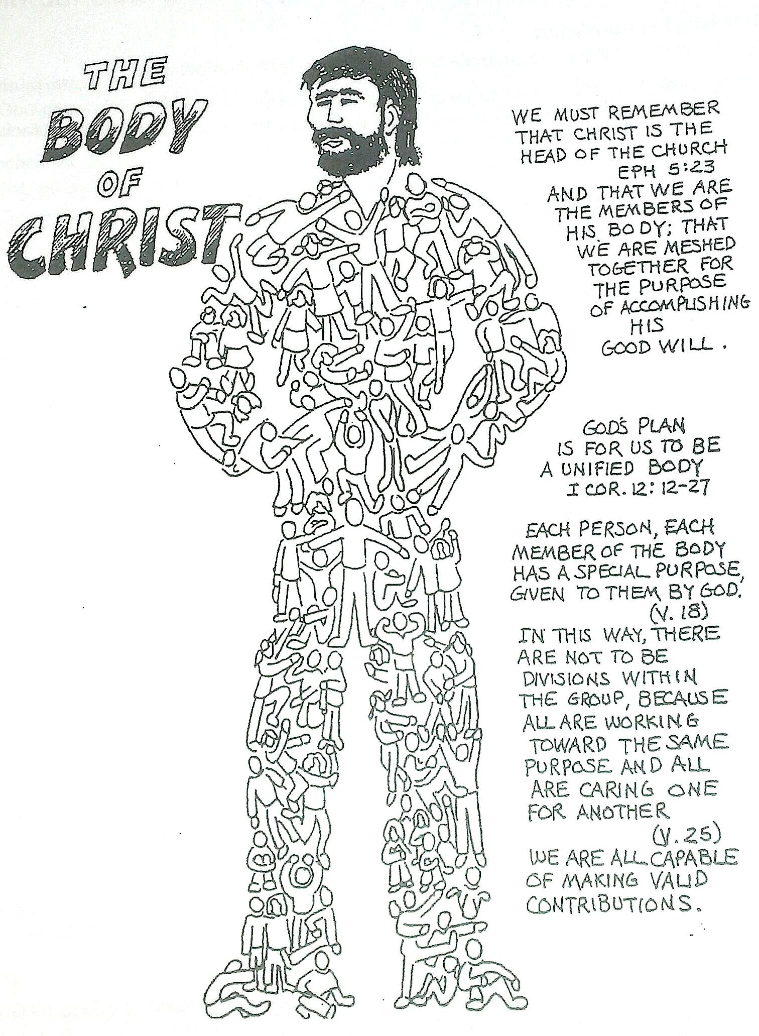 Body Of The Church Clipart.