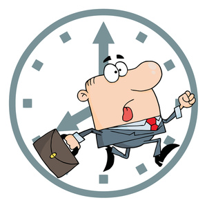 On Time Clipart.