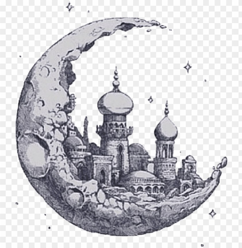 tumblr transparent moon castlemoon clipart tumblr 640.