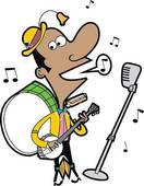 Stock Illustration of One Man Band coultj0309s.
