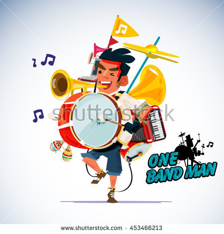 Clipart One Man Band Clipground