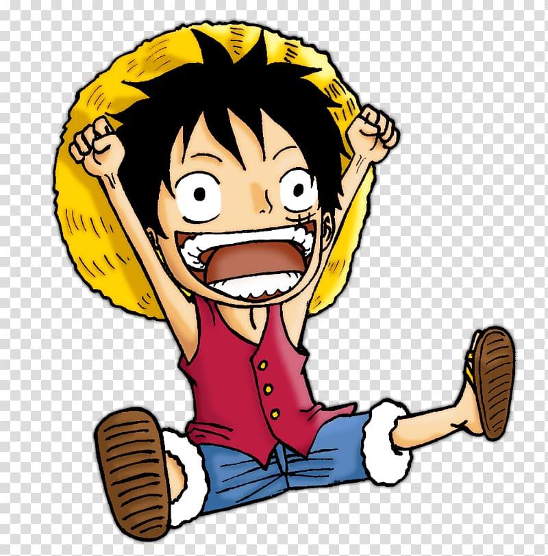 Monkey D. Luffy Manga One Piece Anime, manga transparent.