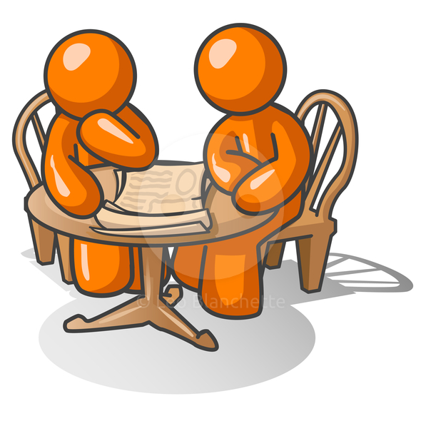 One To One Clipart.