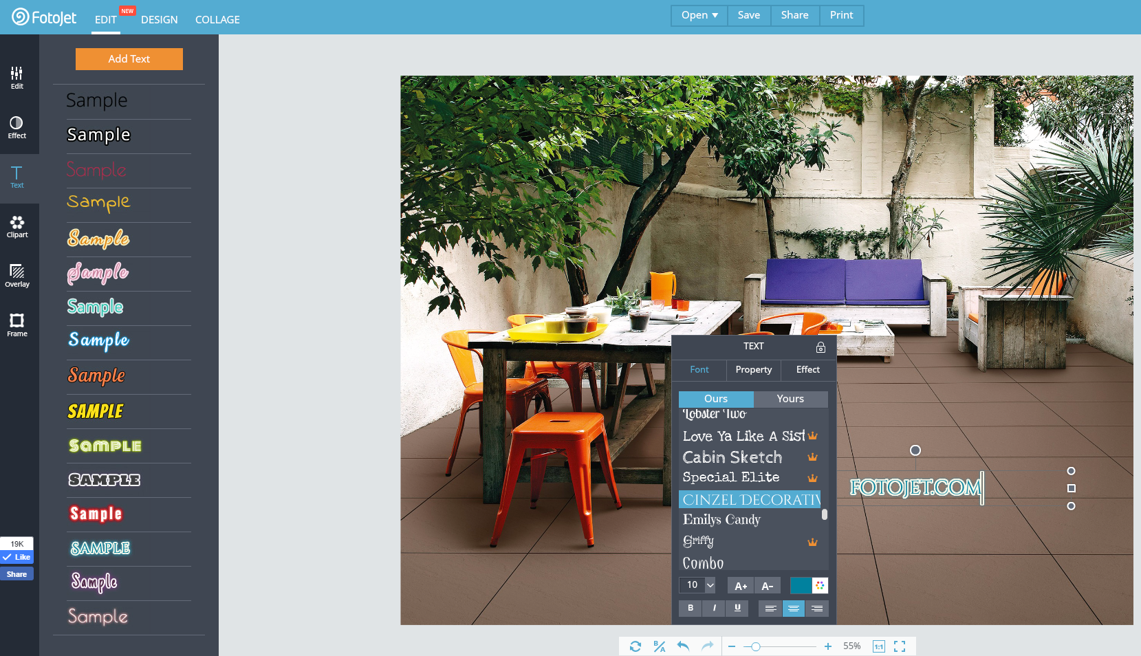 FotoJet's Photo Editor Makes Online Photo Editing Easy.