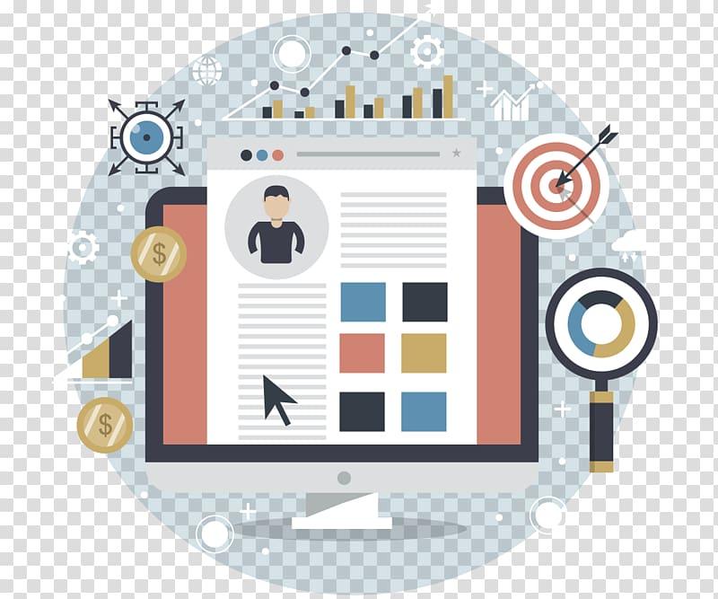 Online advertising Promotion Brand Advertising media.