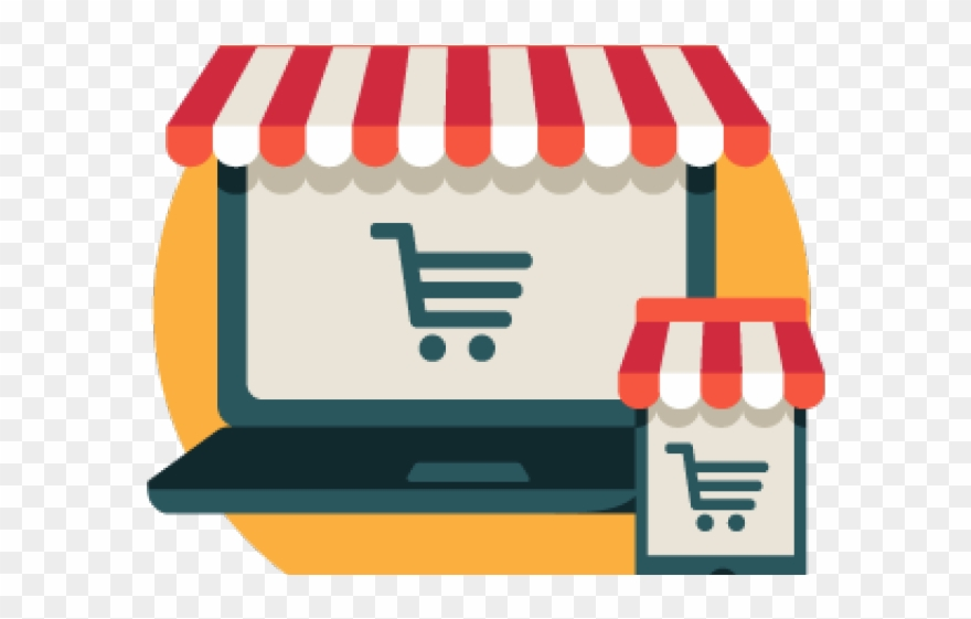 Online Shopping Clipart On Line.