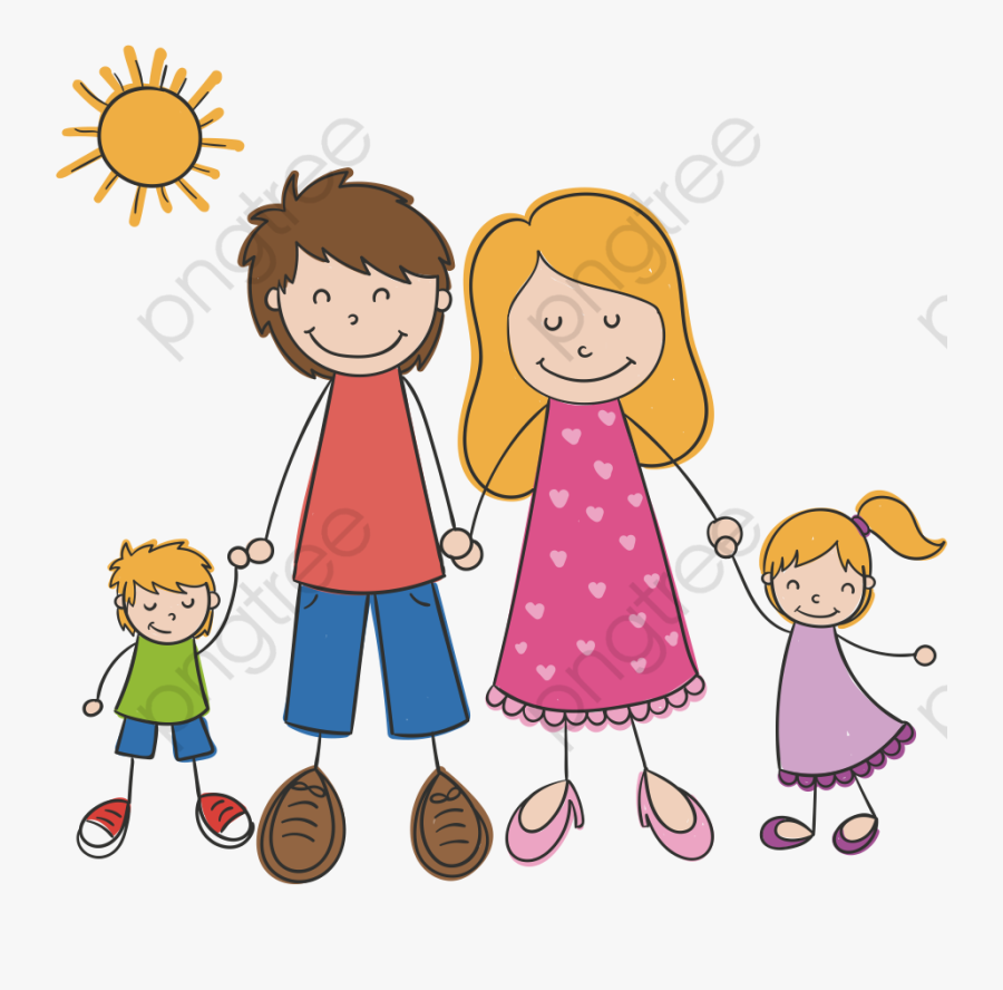 Family Clipart Only Child.