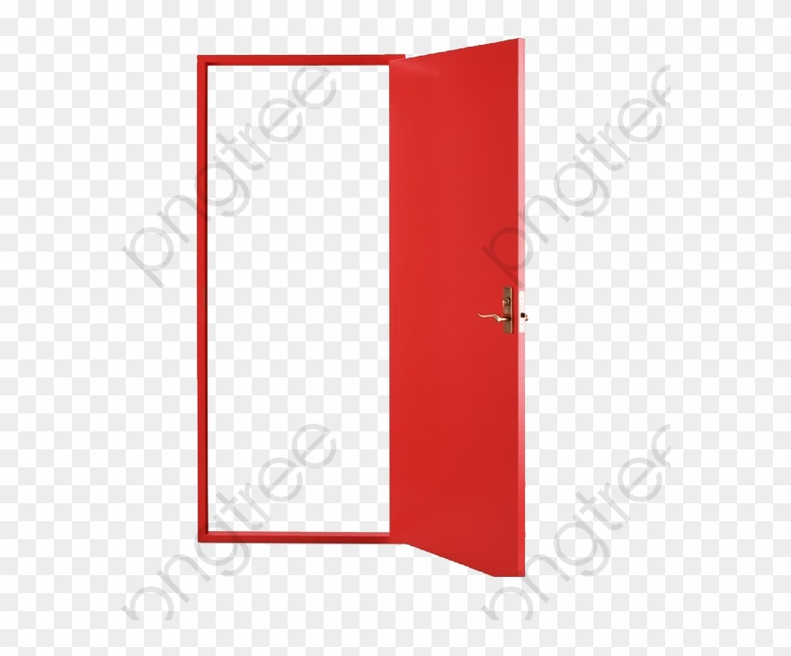 Door Clipart Open.