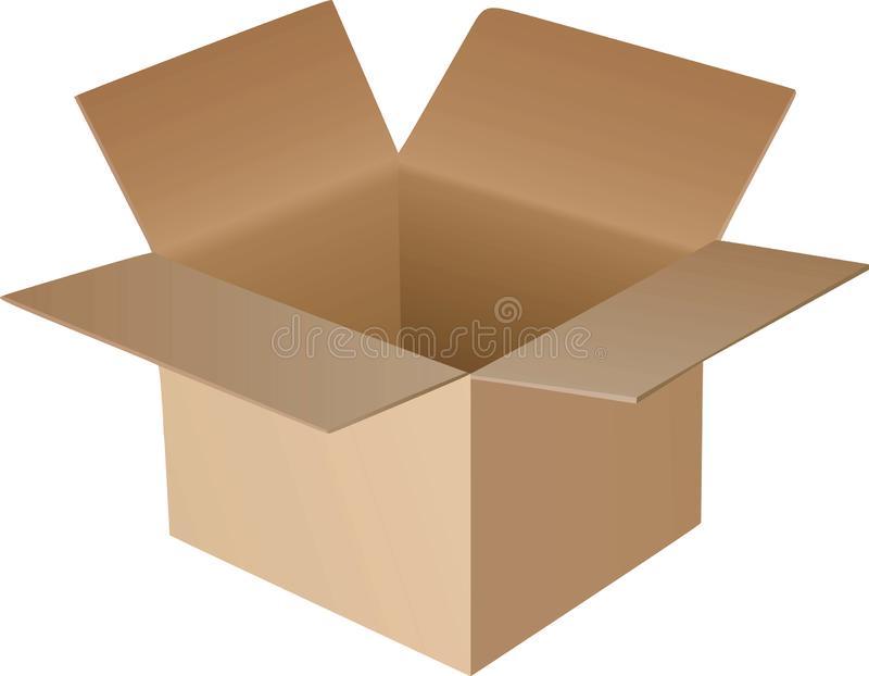 Open Box Stock Illustrations.