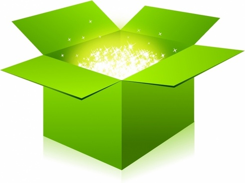 Open box clipart » Clipart Station.