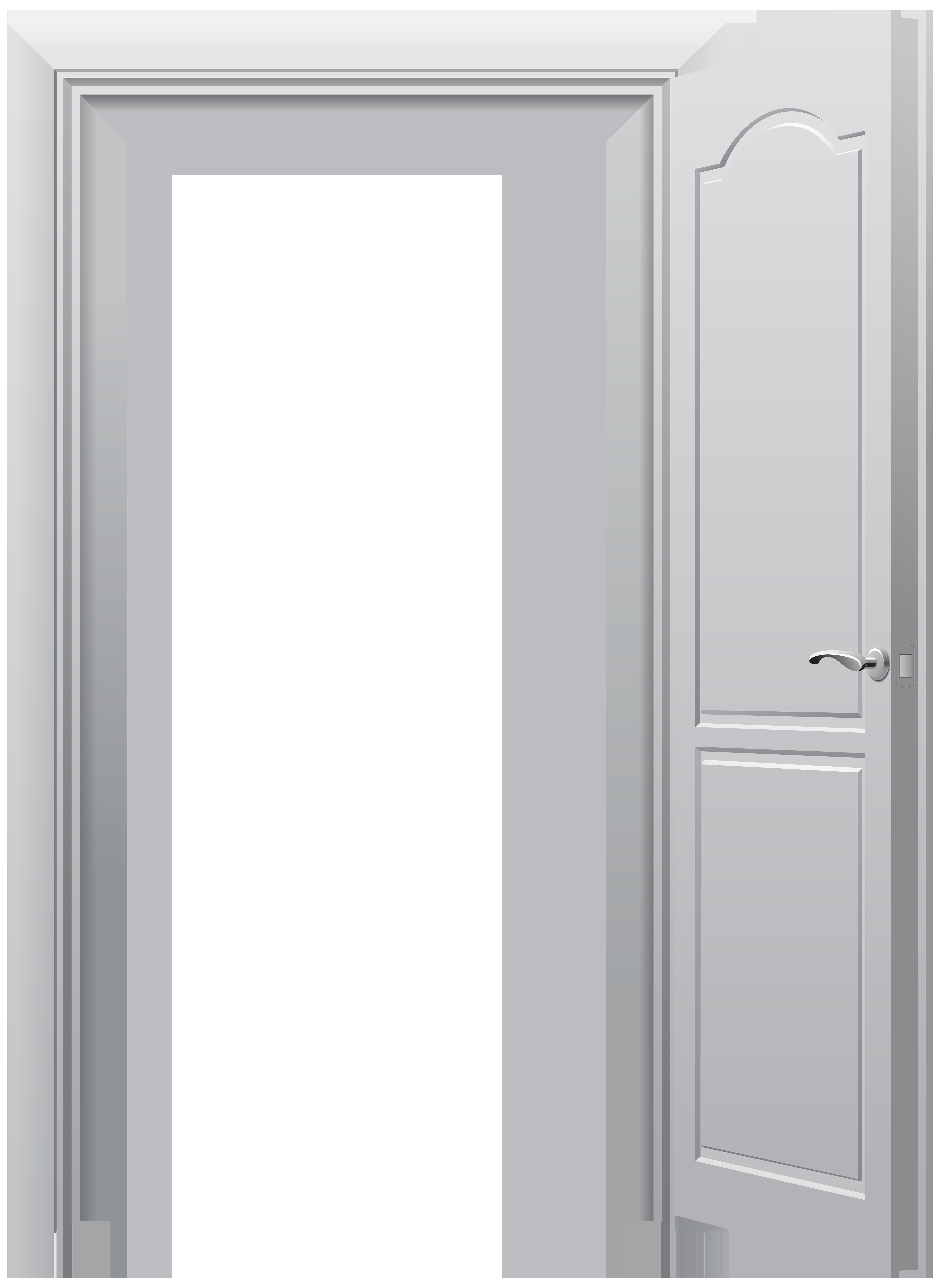 Open Door PNG Clip Art.
