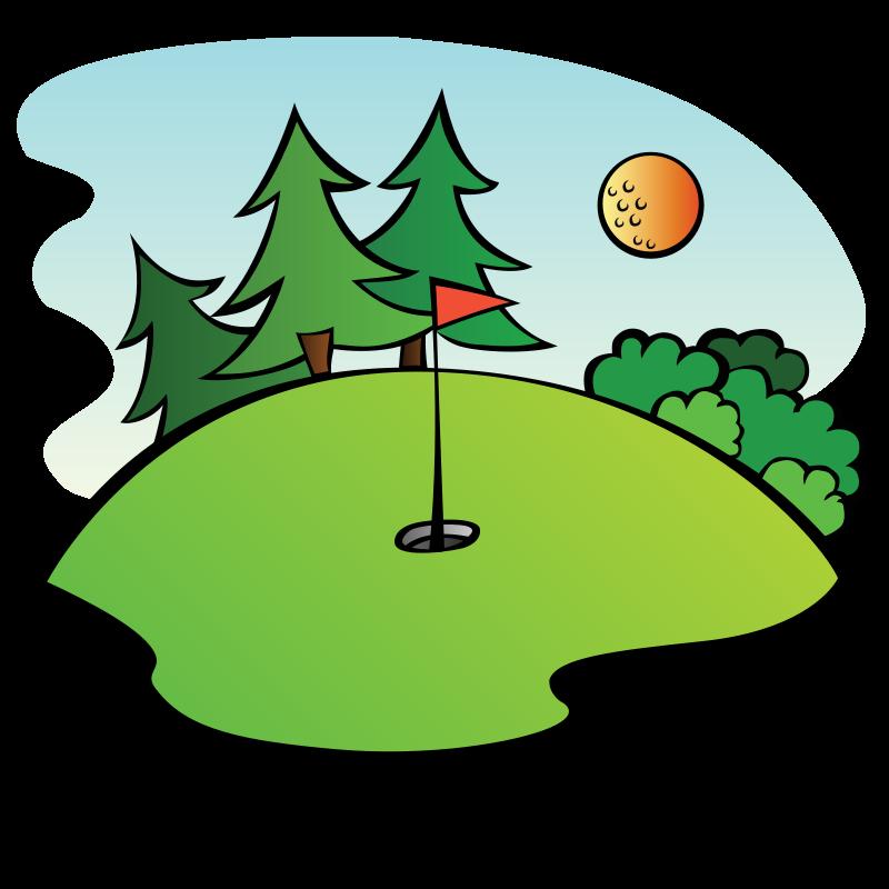 Golf clipart golf field, Golf golf field Transparent FREE.