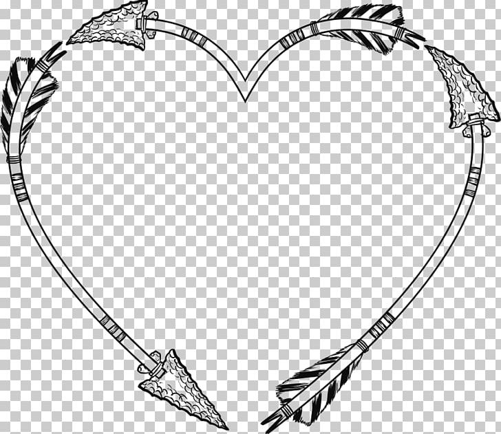 Open Heart Frames PNG, Clipart, Arrow, Black And White, Body.