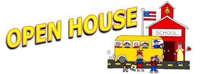 Kindergarten open house clipart.