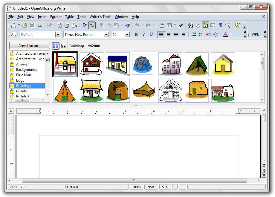 OxygenOffice Pro 2.3 = OpenOffice with Clipart & Templates.