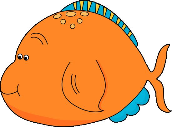 Cute Orange Fish.