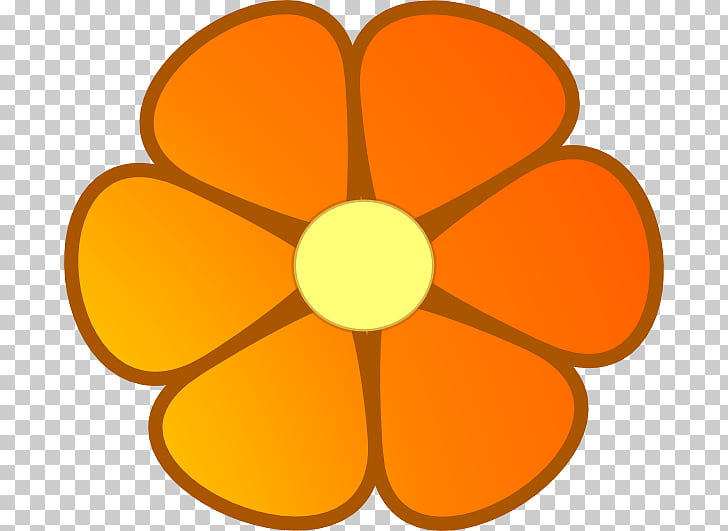 Flower Orange blossom , Orange Flowers s PNG clipart.
