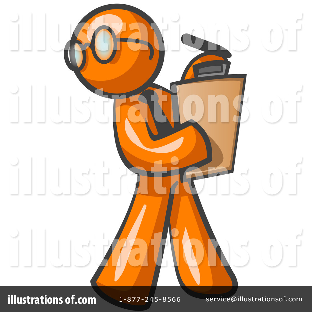 Orange Man Clipart #13200.