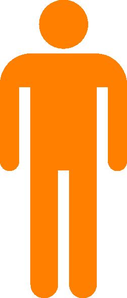 Orange Man PNG Clip arts for Web.