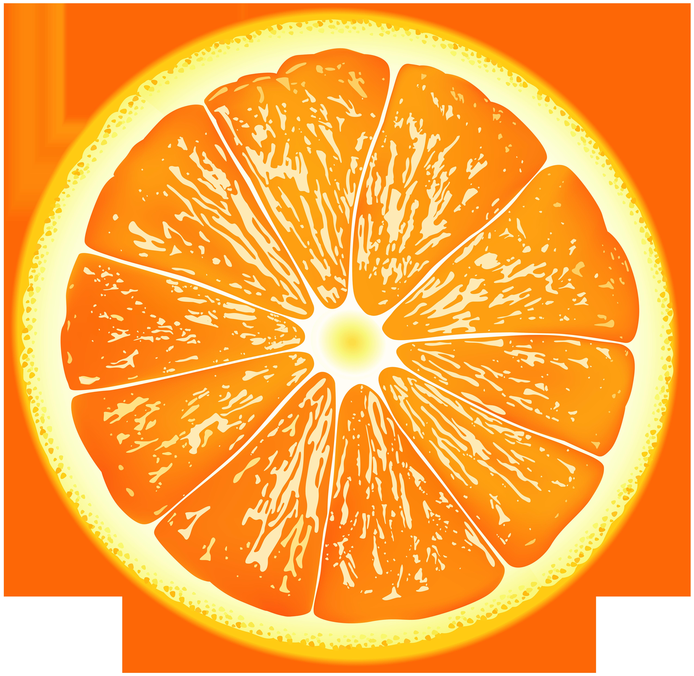 Orange Slice PNG Clip Art.
