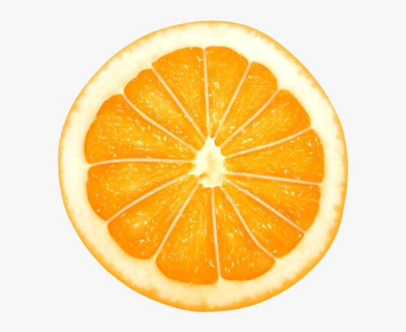 Orange Slice Png Clip Art Transparent Image.