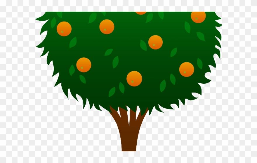 Leaves Clipart Orange Tree.