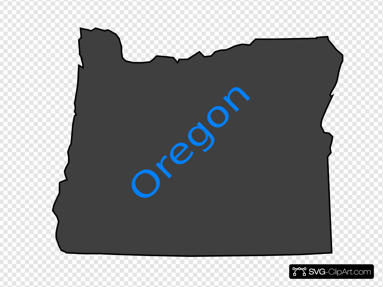 Oregon Clip art, Icon and SVG.