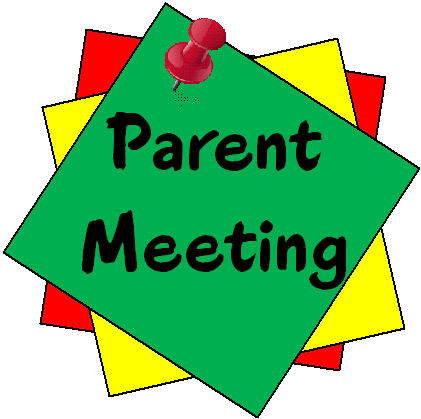 Parent Orientation Clipart.