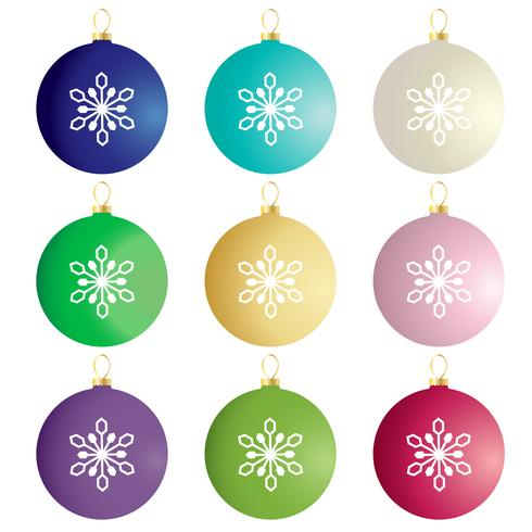 colorful gradient ornaments vector clipart.