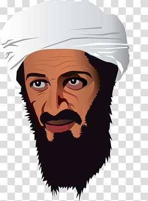 Osama bin Laden transparent background PNG clipart.