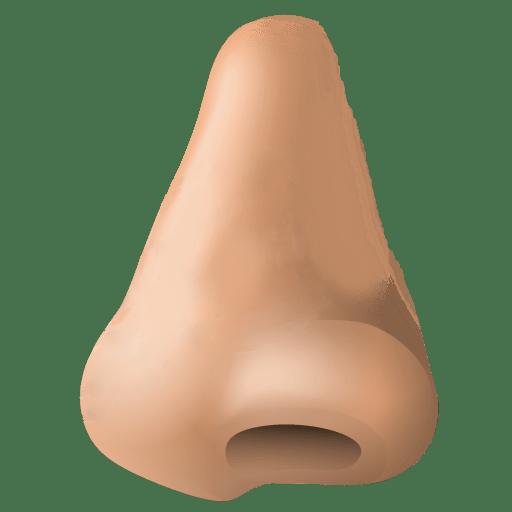 Human Nose Clipart transparent PNG.