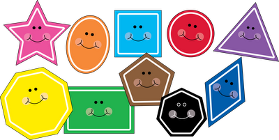 Free!! Cute shape clipart! There are also fish, and other.