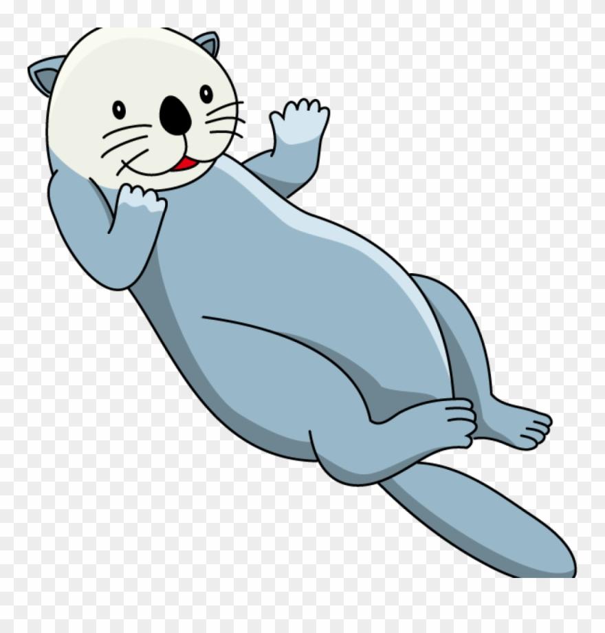 Sea Otter Clip Art Snowman Sea Otter Clip Art Clipart.