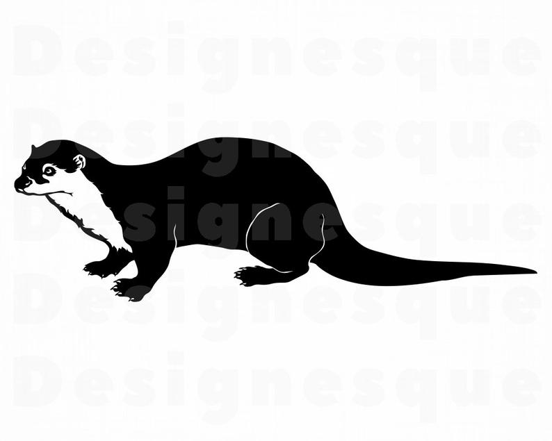 Otter SVG, Forrest Creatures, Otter Clipart, Otter Files for Cricut, Otter  Cut Files For Silhouette, Otter Dxf, Otter Png, Otter Eps, Vector.