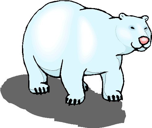 Polar Bear Clipart Free.