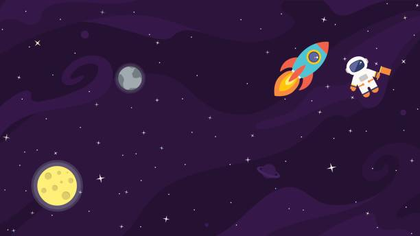 Best Outer Space Illustrations, Royalty.
