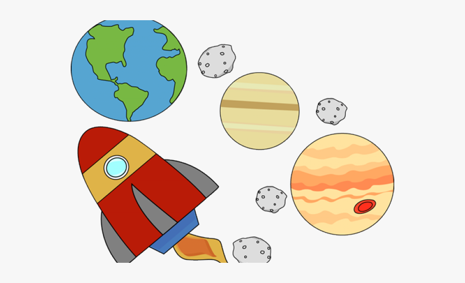 Outer Space Cliparts.