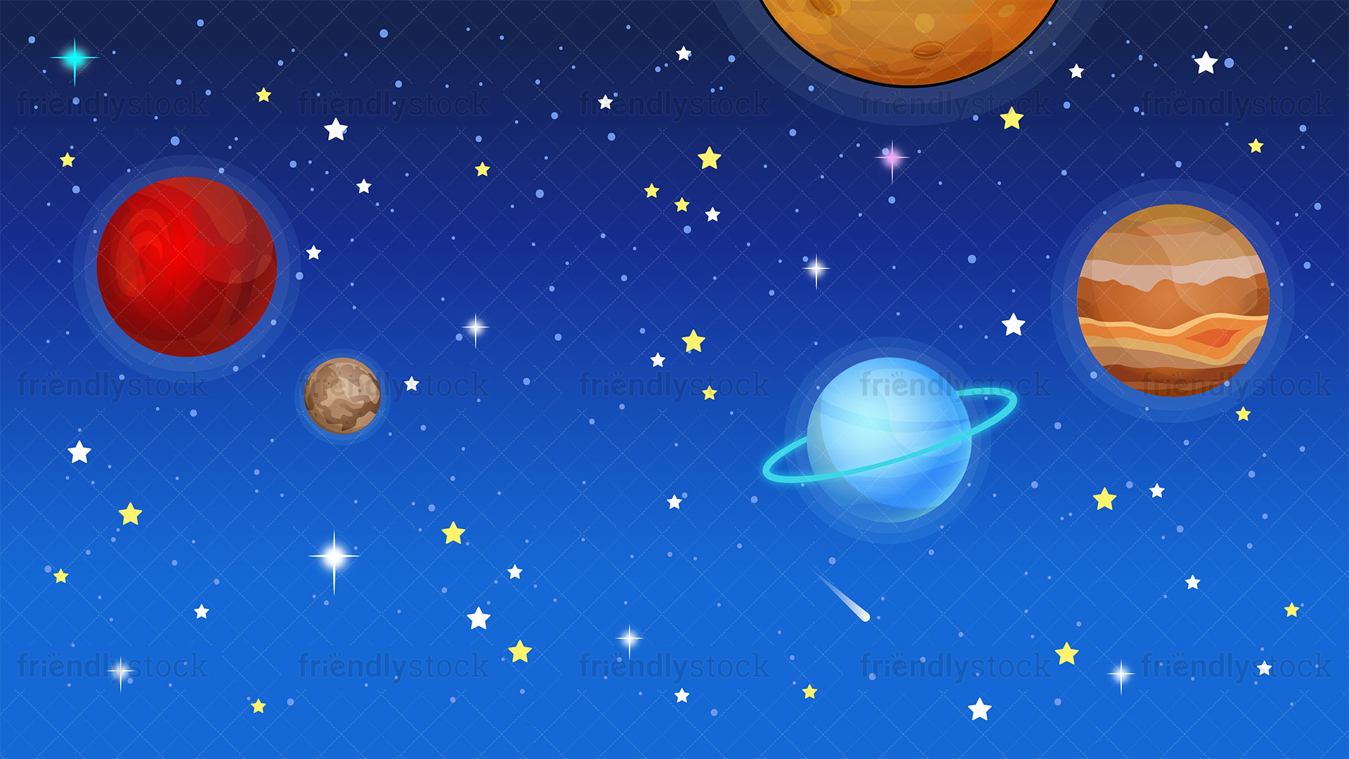 Outer Space Background.