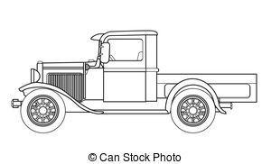 Truck outline Illustrations and Clip Art. 5,150 Truck outline.