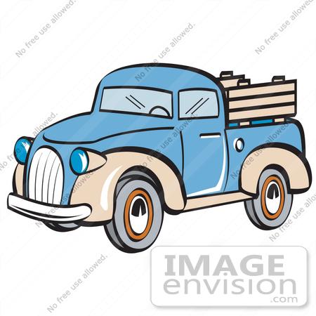 Pickup Truck Clipart Outline.