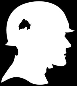 Soldier Outline Clip Art at Clker.com.