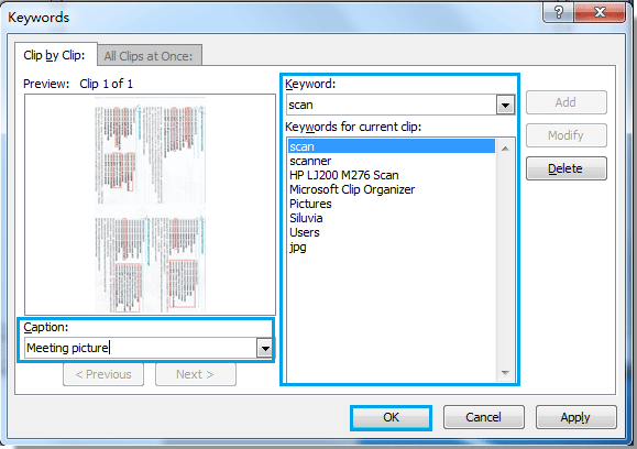 Outlook Clipart Not Working.