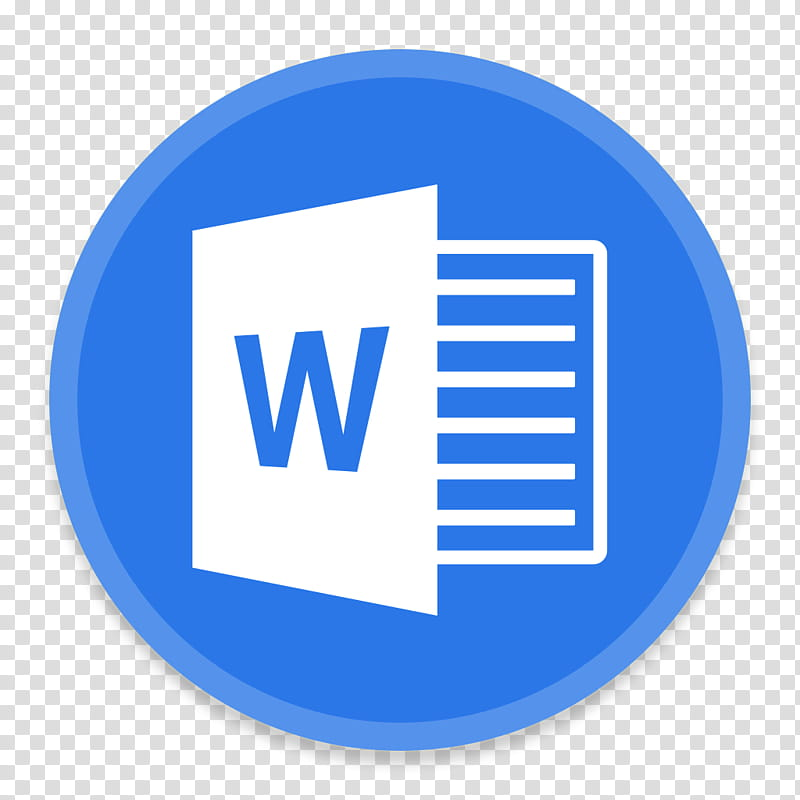 Office FileTypes, Microsoft Word transparent background PNG clipart.