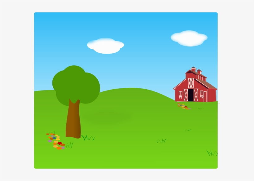 Farm Background Clip Art At Clker.
