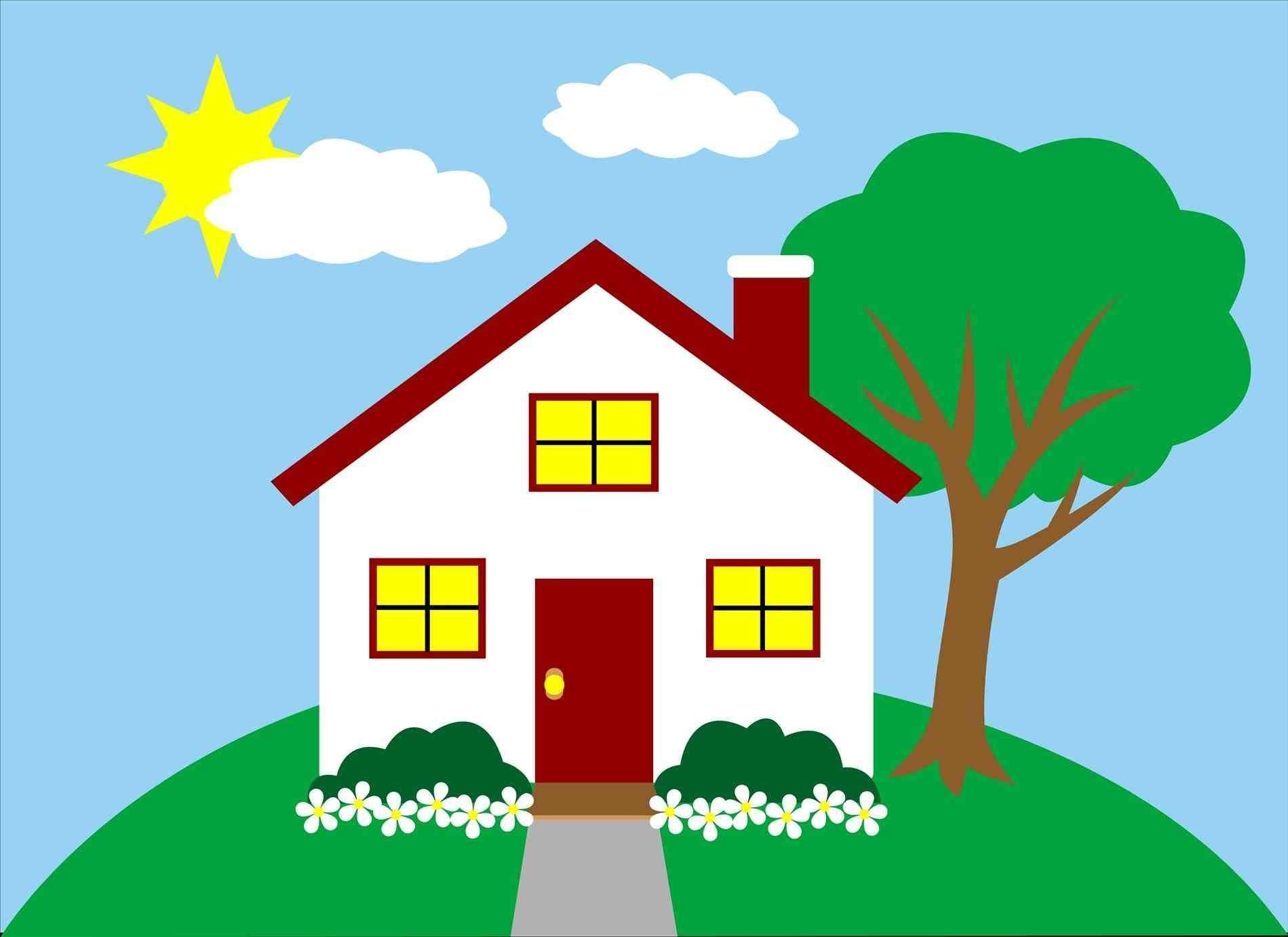 With Clipart Outside House The Images Collection Of Library Home And.