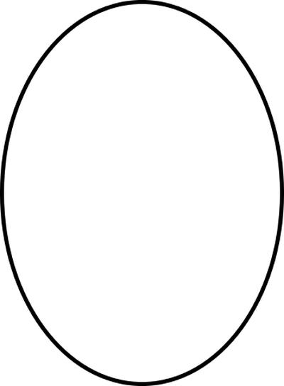 Oval Shape Clipart.